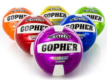 Rainbow® Metallix™ Volleyballs