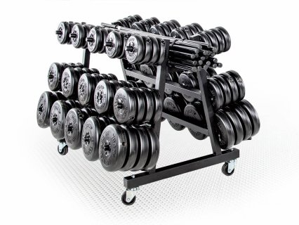 Complete set of barbells and club pack