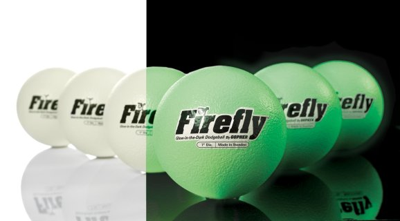 FireFly™ Glow in the Dark Dodgeballs