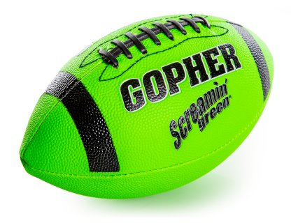 Screamin' Green - Synthetic Football, Size 3