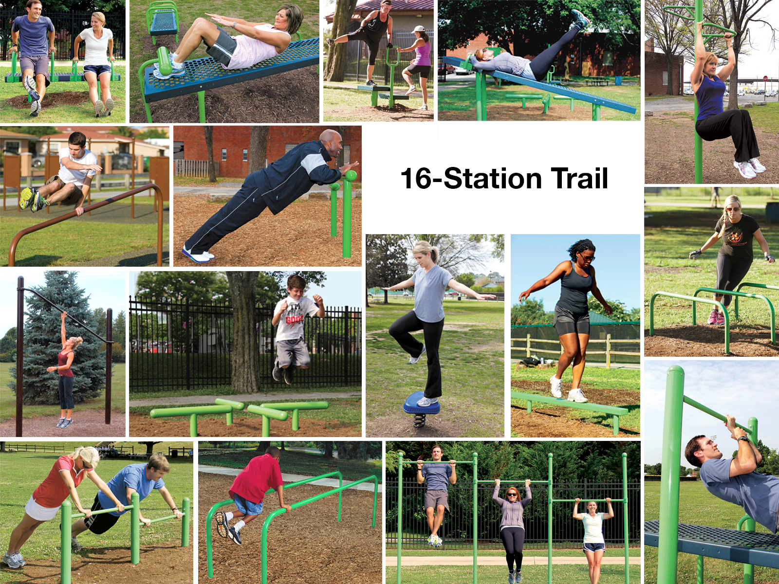 Outdoor Fitness System - Package 2