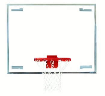 Bison Side Court Unbreakable Glass Backboard