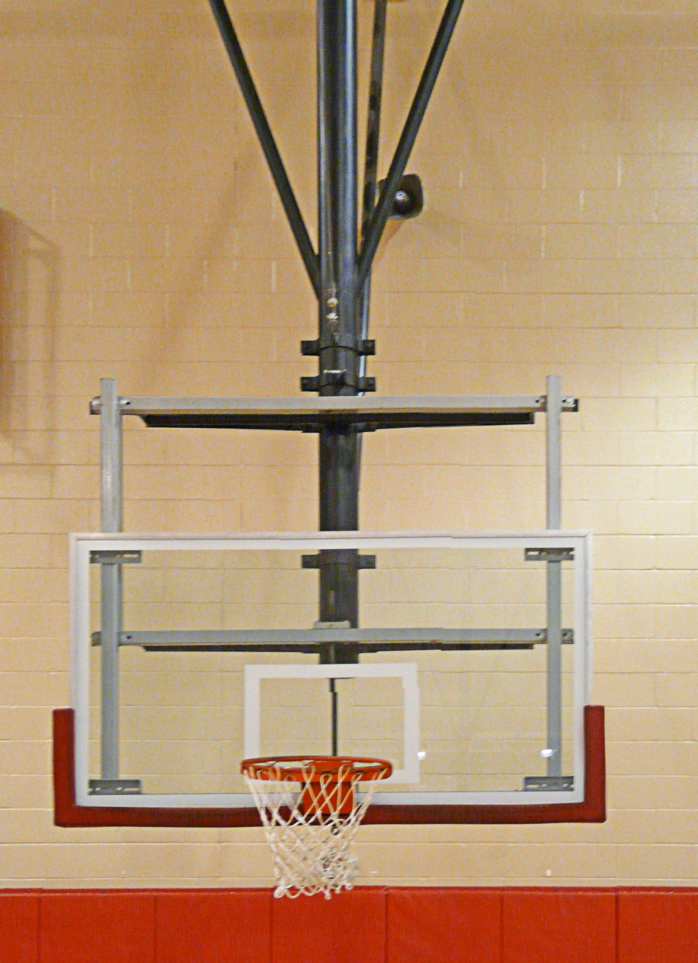 Bison ZipCrank Height Adjustment Basketball Systems
