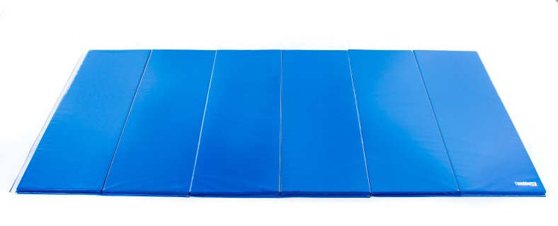 Royal blue 12 ft by 6 ft advanced mat