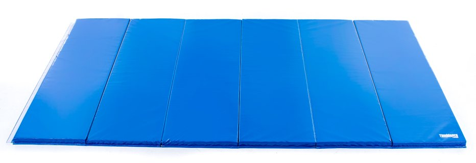 Royal blue 12 ft by 6 ft intermediate mat