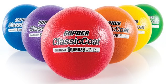ClassicCoat Squeeze Coated-Foam Balls