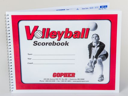 Gopher Volleyball Scorebook