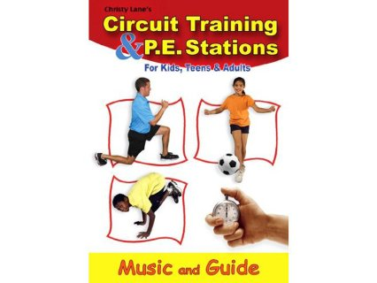 Circuit Training and PE Stations CD