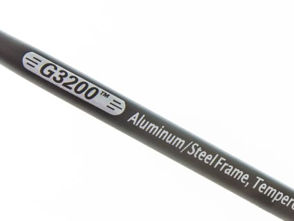 Aluminum and tempered-steel maximize durability