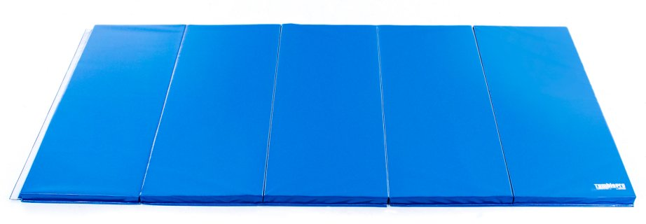 Royal blue 5 ft by 10 ft 2 inch thick mat