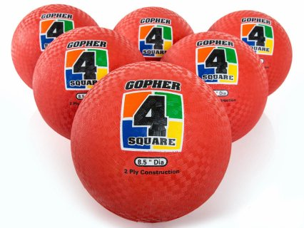 Gopher 4-Square Balls
