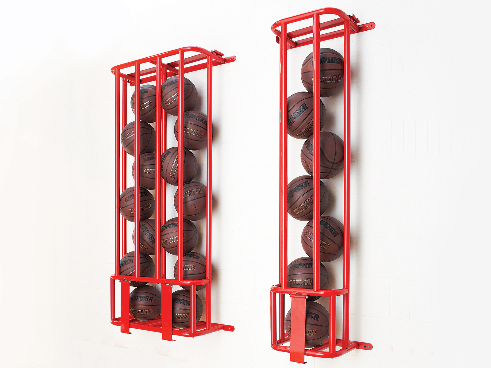 Titan Lockable Wall Mount Ball Rack Gopher Sport