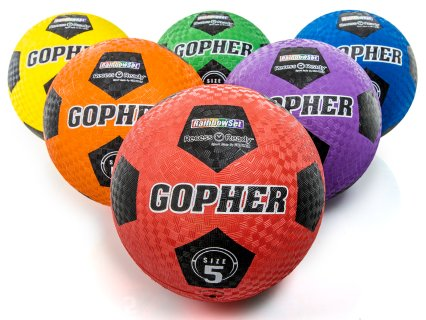 Rainbow® RecessReady™ Soccer Balls
