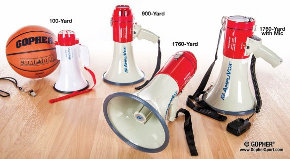 Rechargeable megaphone options