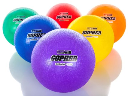 Gopher Hybrid Playground Balls