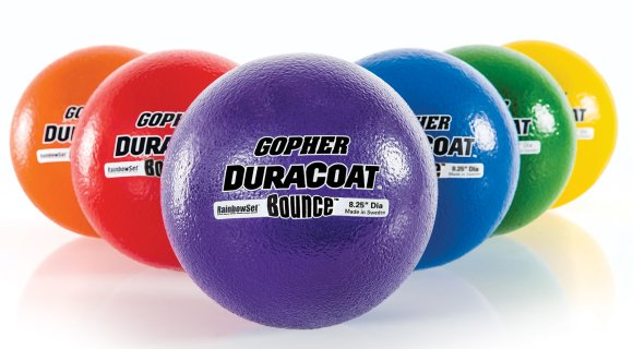Rainbow DuraCoat Bounce Coated-Foam Balls