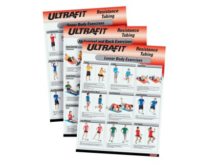 UltraFit™ Resistance Tubing Training Charts