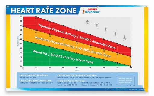Teach-nique™ Age-Based Heart Rate Zone Banner
