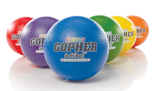 Gopher SoftiBall™ Coated-Foam Balls