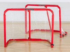 RinkPro Steel Goals - Jr, Pair of Goals w/ Nets