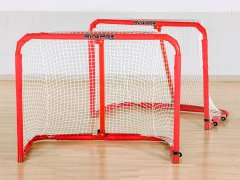 RinkPro Aluminum Goals - Jr, Pair of Goals w/ Nets