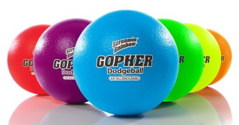 Image of Gopher Coated-Foam Dodgeballs