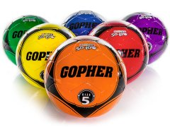 Rainbow Gopher So-Low - Soccer Ball, Size 5, Set of 6