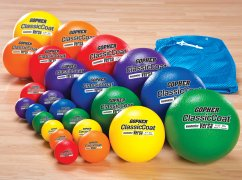 Image of Rainbow® Coated-Foam Ball Pack One
