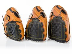 Size varieties for synthetic baseball gloves