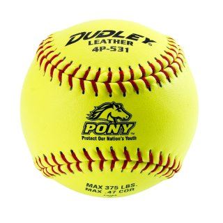 Dudley 4P-531 Thunder Heat™ Pony League Fast Pitch Softballs