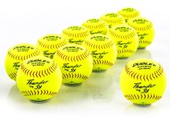 Dudley 4A-923Y Thunder HyCon™ ASA Slow Pitch Softballs
