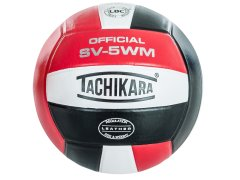 Single SV-5WM scarlet/white/black volleyball