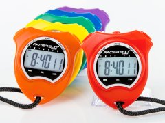 Set of 6 rainbow pacer 200 stopwatches