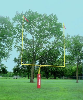 "Bison® 4-1/2"" Gooseneck Football Goalpost"