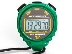 Accusplit Pro Survivor Stopwatch - Green