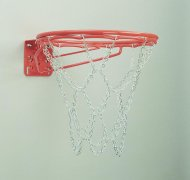 Bison® Front-Mount Double-Rim Basketball Goal