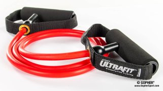 Image of UltraFit™ Resistance Tubing with Foam-Covered Handles