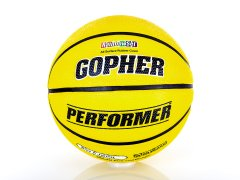 Gopher Performer - Rubber Basketball, Size 5, Yellow