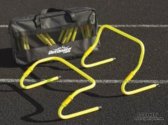 Set of 2-in-1 training hurdles