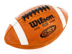 Wilson GST - Leather Football, Size 5