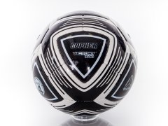 Black size 4 victory max soccer ball
