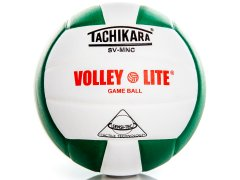 Tachikara SV-MNC Volley-Lite - Training Volleyball, Official Size, Green/White