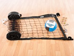 Wallyball net and ball