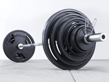 Rubber-Coated Olympic Weight Set