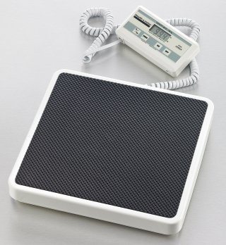 Remote display body weight scale