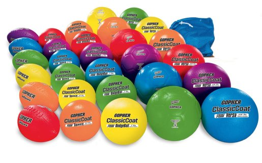 Screamin' Rainbow® Coated-Foam Ball Pack