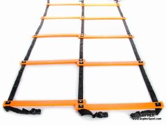 Screamin' Orange Agility Ladder - Double Ladder