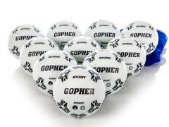 Gopher Defender Soccer Ball with Bag - Size 4, Set of 10