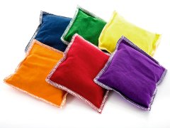 Rainbow® Polyester/Cotton Beanbags
