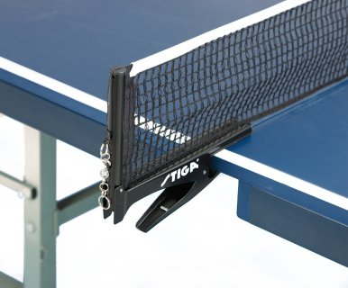 Close up of replacement ping pong net for school